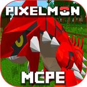 Pixelmon GO MOD MCPE icon