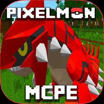 Pixelmon GO MOD MCPE poster