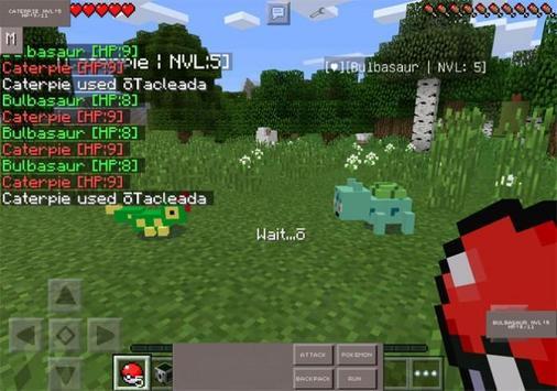 Pixelmon GO MOD MCPE apk screenshot