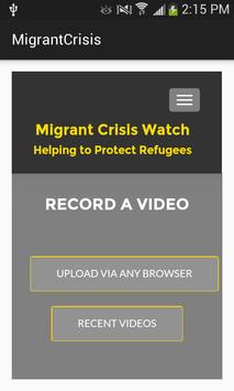 Migrant.Crisis.Watch poster