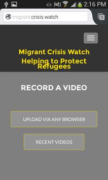 Migrant.Crisis.Watch apk screenshot