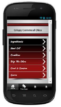 Crispy Cornmeal Okra poster