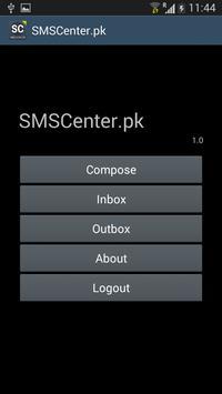 SMSCenter.PK | sms to Pakistan apk screenshot