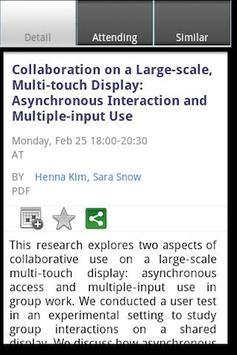 CSCW 2013 apk screenshot