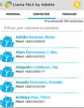 Adoble Llama Fácil apk screenshot