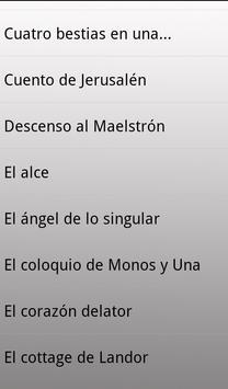 45 Cuentos de Edgar Allan Poe apk screenshot