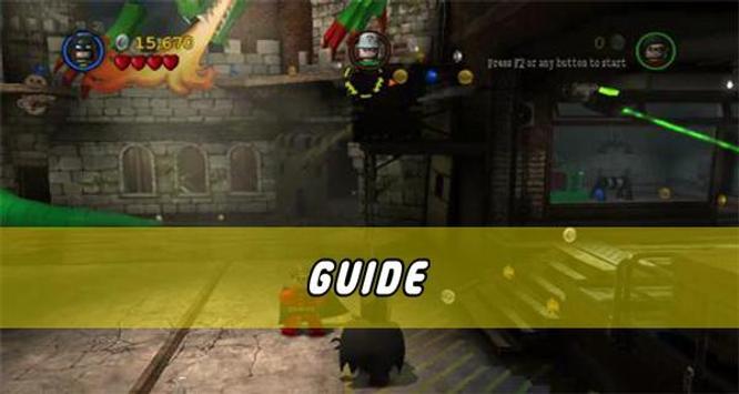 Guide for LEGO Batman poster