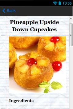 Cupcake Delights Recipes apk screenshot