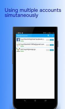 Messenger 4 All apk screenshot