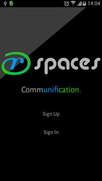 r-Spaces poster