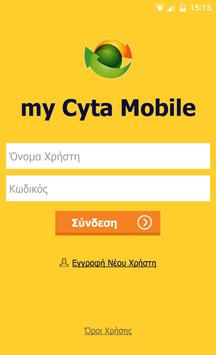 my Cyta Mobile poster