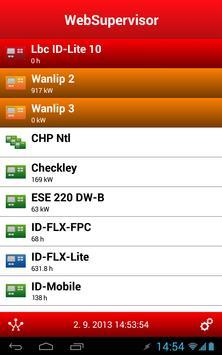WebSupervisor apk screenshot