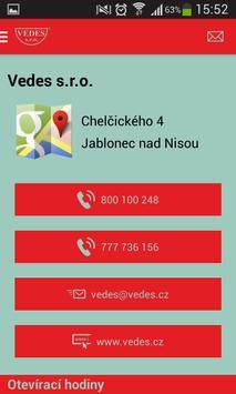VEDES s.r.o. apk screenshot