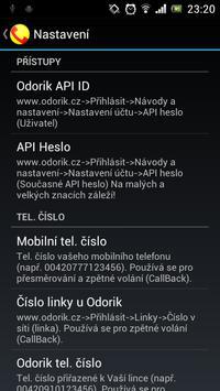 OdorAK apk screenshot