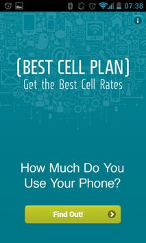Best Cell Plan poster