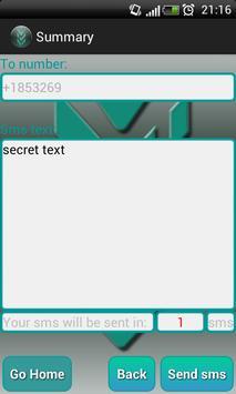 Encrypt sms apk screenshot