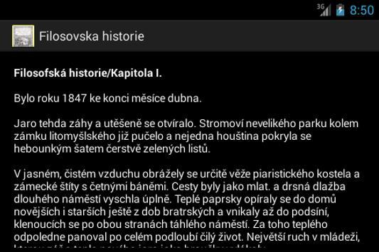 Filosovska historie A.Jirasek poster