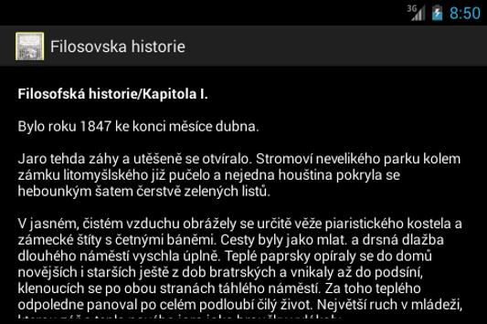 Filosovska historie A.Jirasek apk screenshot
