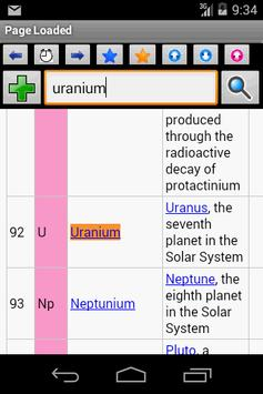 Periodic Table Wiki apk screenshot
