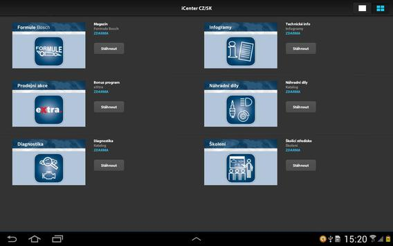 Bosch iCenter apk screenshot
