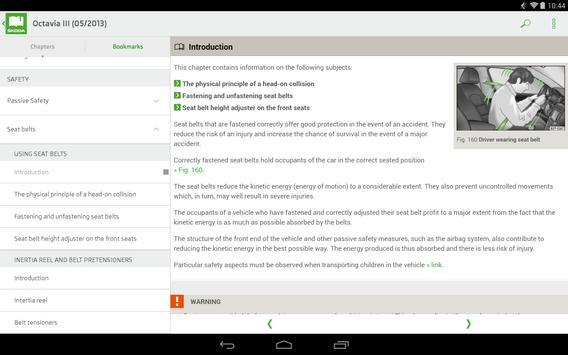 ŠKODA Manual apk screenshot