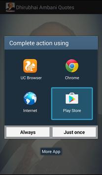 Dhirubhai Ambani अनमोल विचार apk screenshot