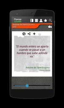 Famous Quotes Spanish apk screenshot