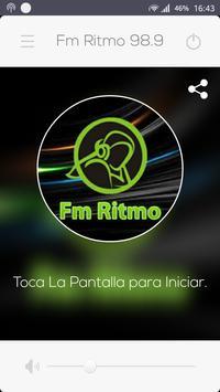 Ritmo Fm 98.9 poster
