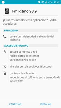 Ritmo Fm 98.9 apk screenshot
