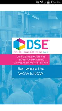 DSE 2015 poster
