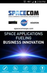 SpaceCom 2015 poster