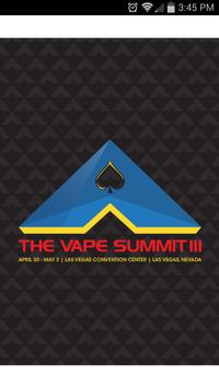The Vape Summit Las Vegas 2015 poster