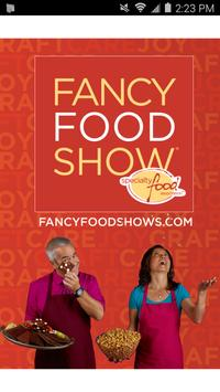 Fancy Food Show poster