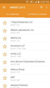 NMSDC 2015 Conference and BOE apk screenshot