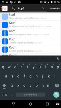 Termania - slovarji apk screenshot