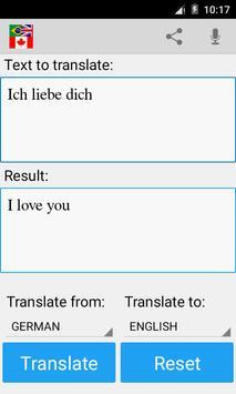 Language Translator apk screenshot