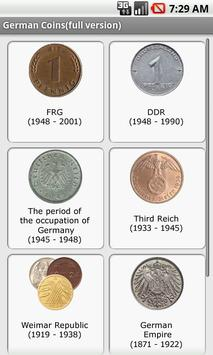 German Coins poster