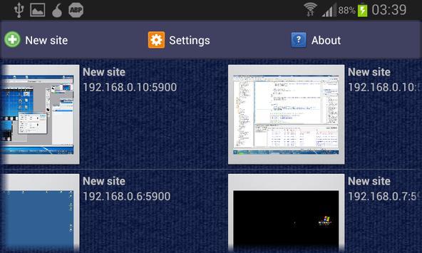 akRDCFree VNC viewer apk screenshot