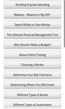 Audiobook - Investing apk screenshot