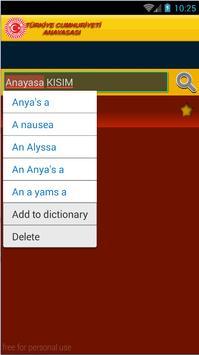 TÜRK Anayasa Hukuku apk screenshot