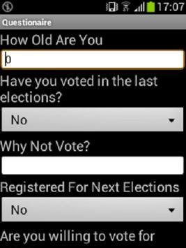 Anc Voter Sentiment apk screenshot