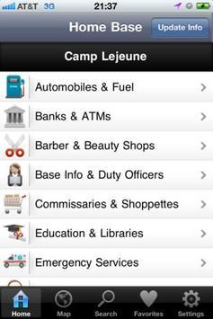 Camp Lejeune Directory apk screenshot