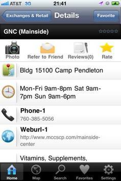 Camp Pendleton Directory apk screenshot