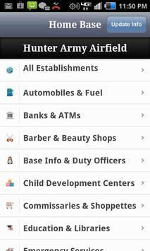 Hunter Army Airfield Directory apk screenshot
