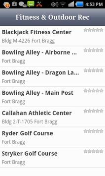 Fort Bragg Directory apk screenshot