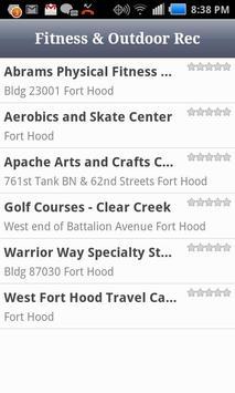Fort Hood Directory apk screenshot
