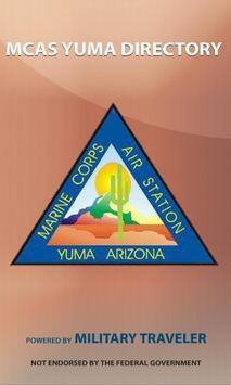 MCAS Yuma Directory poster