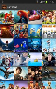 Cartoons on your WALL... apk screenshot