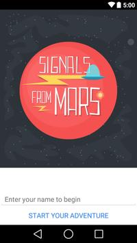 Signals from Mars poster
