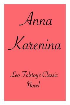 Anna Karenina - Leo Tolstoy poster